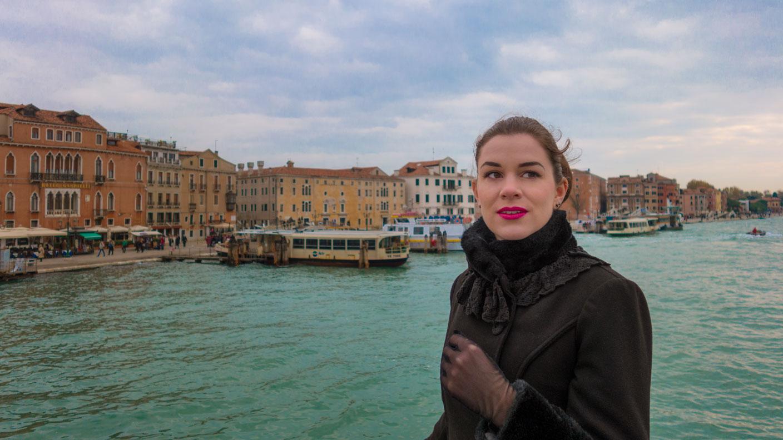 Reise-Bloggerin RetroCat auf dem Wasserweg nach Venedig