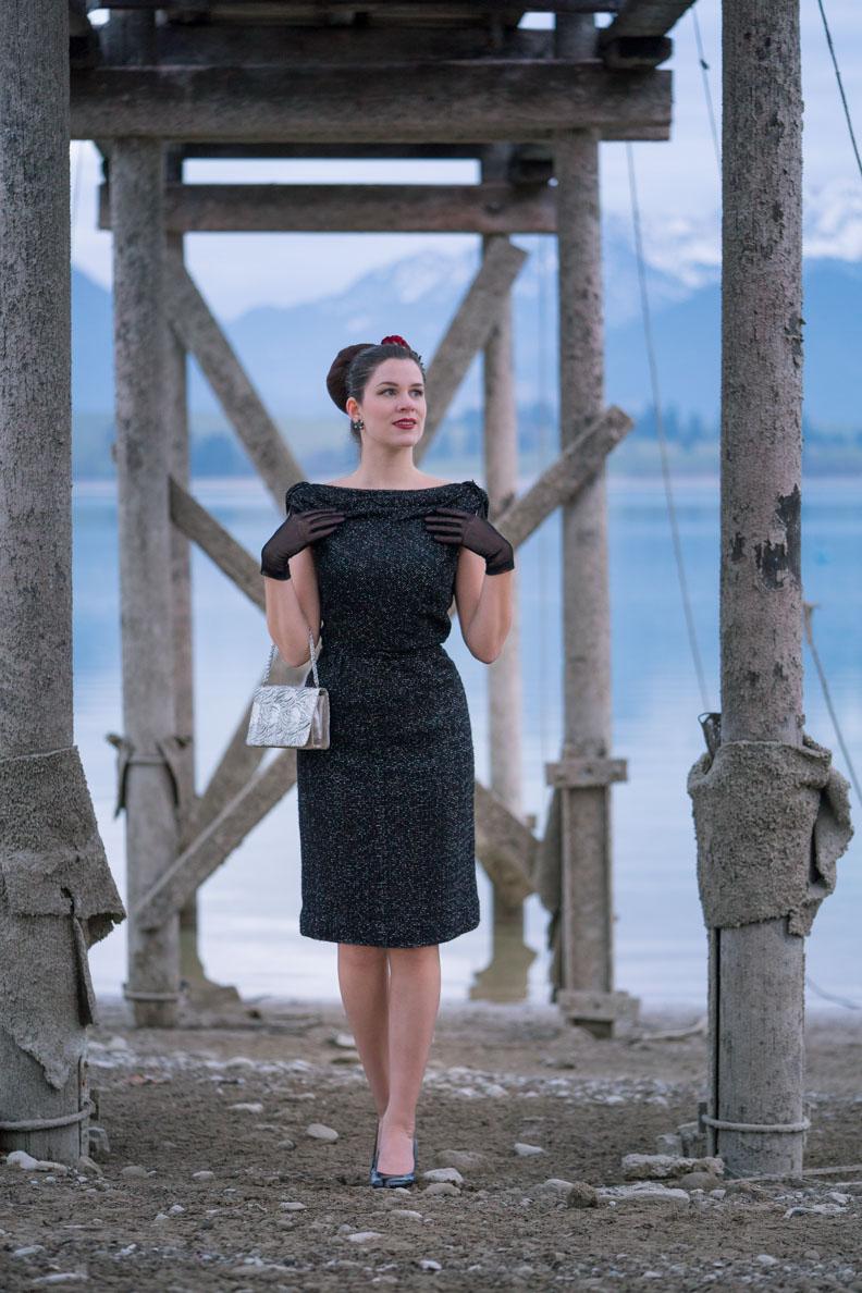 Festliche Vintage-Mode: Ein 50er-Jahre-Kleid und ...
