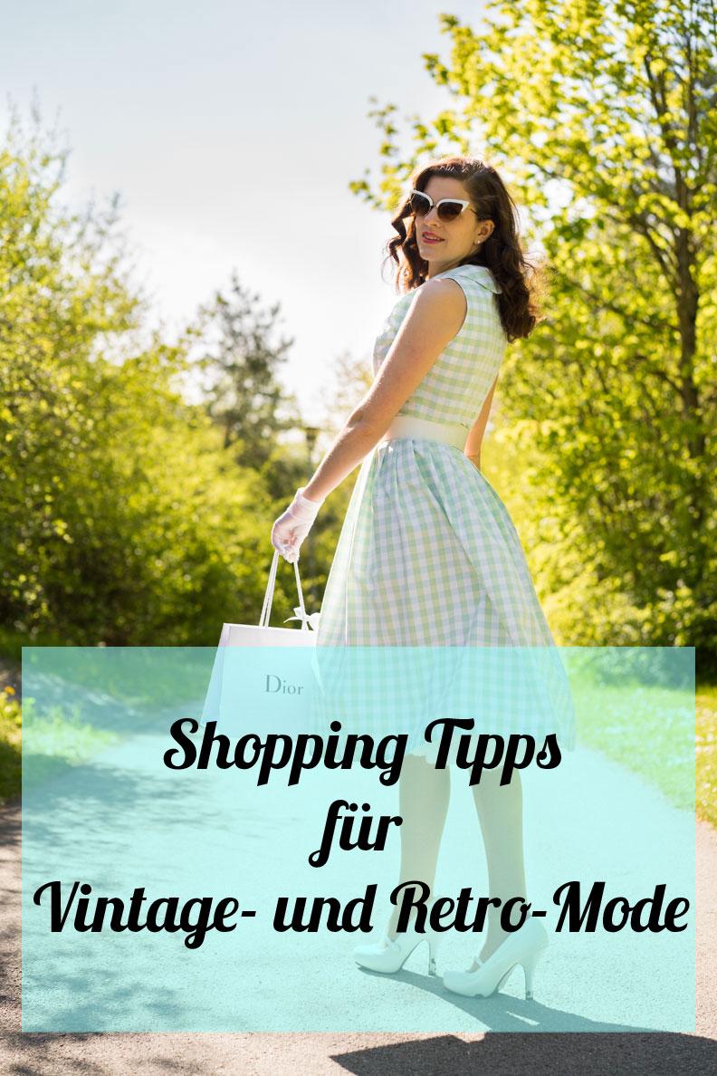 RetroCats Shopping-Tipps für Vintage- und Retro-Mode sowie Accessoires