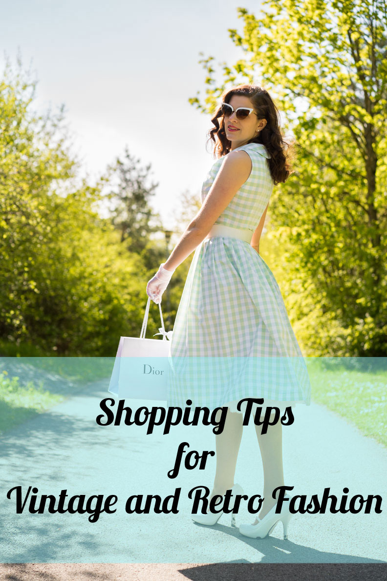 RetroCats shopping tips for vintage and retro fashion