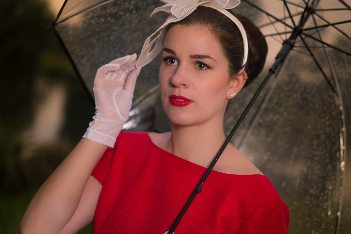 Beauty-Bloggerin RetroCat mit einem klassischen 50er-Jahre-Make-up