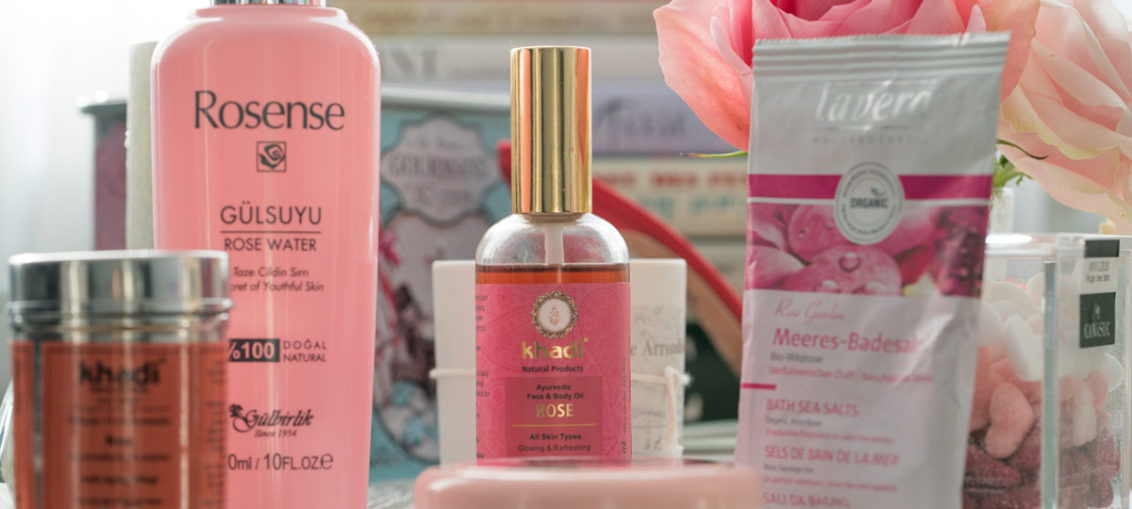Rosige Zeiten: Ein Spa-Tag zu Hause mit Beauty-Produkten aus Rosen