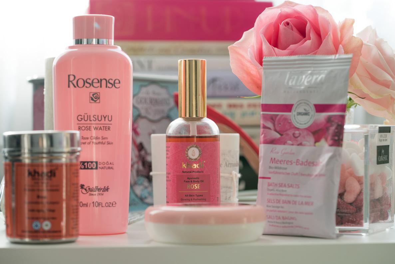 Natürliche Beauty-Produkte aus Rosen