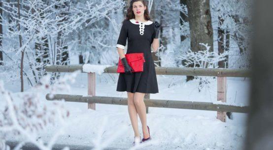 Zum Anbeißen: Das vampirische Claremont Dress von Hell Bunny