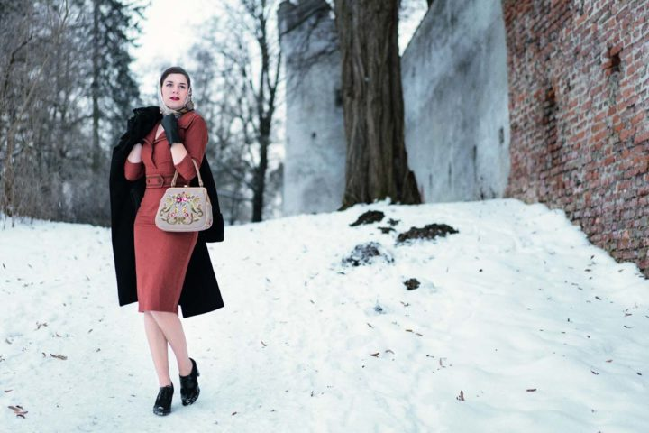 Winterblues goodbye: A chic retro Outfit for Winter