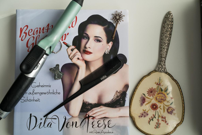 """Dita von Teese """"Beauty und Glamour"""" und Haarstyling-Produkte"""