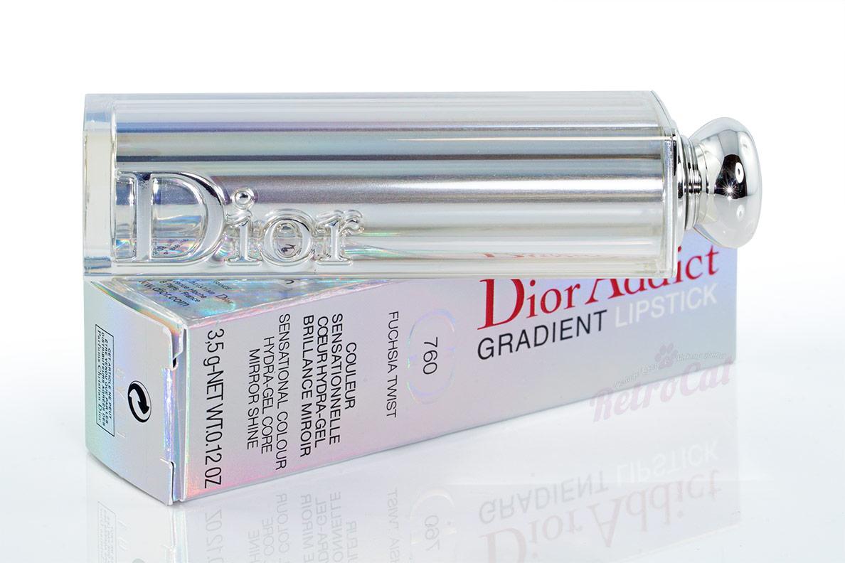 Der Dior Addict Gradient Lipstick aus der Frühjahrskollektion 2017