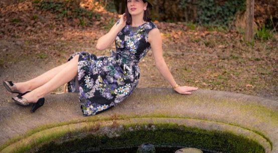 Flower Power: Ein traumhaft schönes Blumenkleid von Daisy Dapper