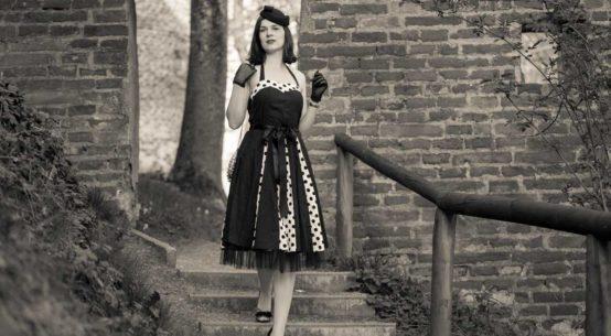 Ein Retro-Kleid für Tag und Nacht: