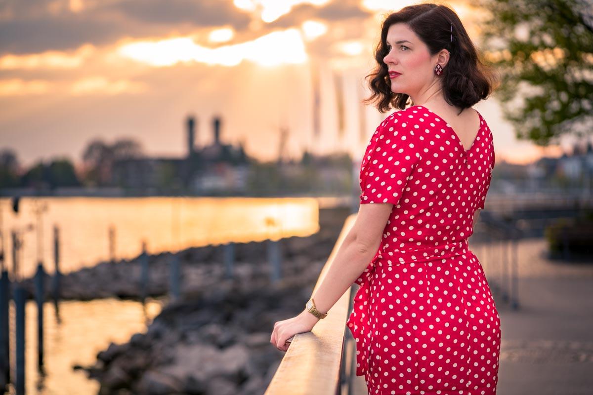 """Ein Spaziergang am Bodensee mit """"Lilian"""" von The Seamstress Of Bloomsbury"""