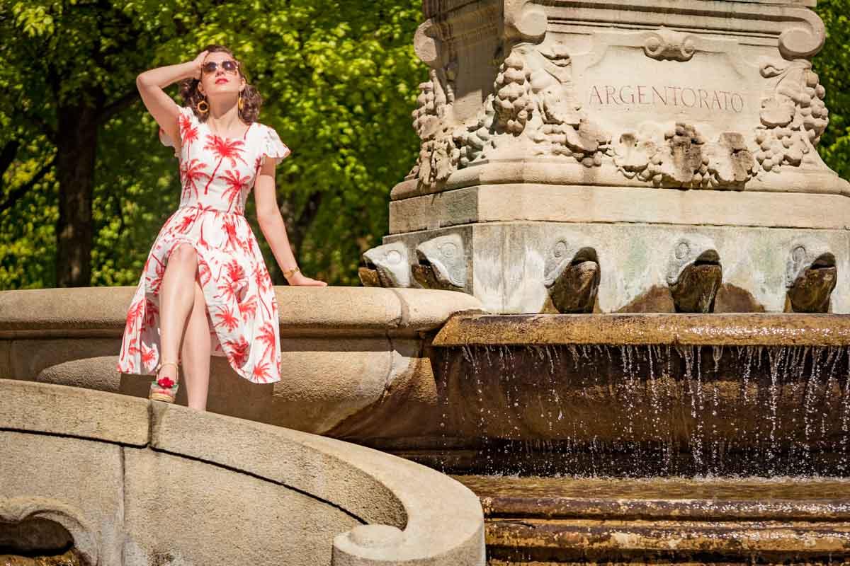 Liebe auf den ersten Blick: Das Palm Dress von Grünten Mode
