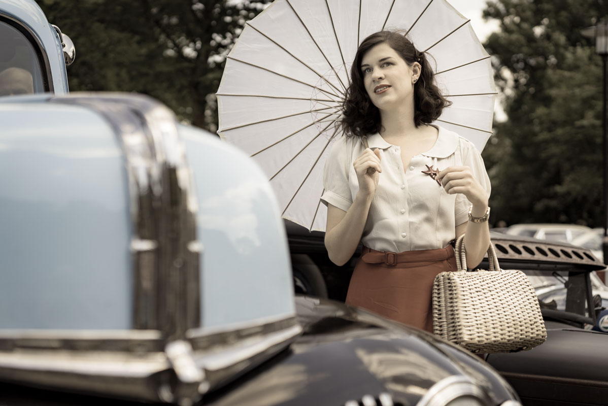 Hot Rods, Mustangs & Co: Auf Oldtimer-Tour im Circle Skirt von The Seamstress Of Bloomsbury