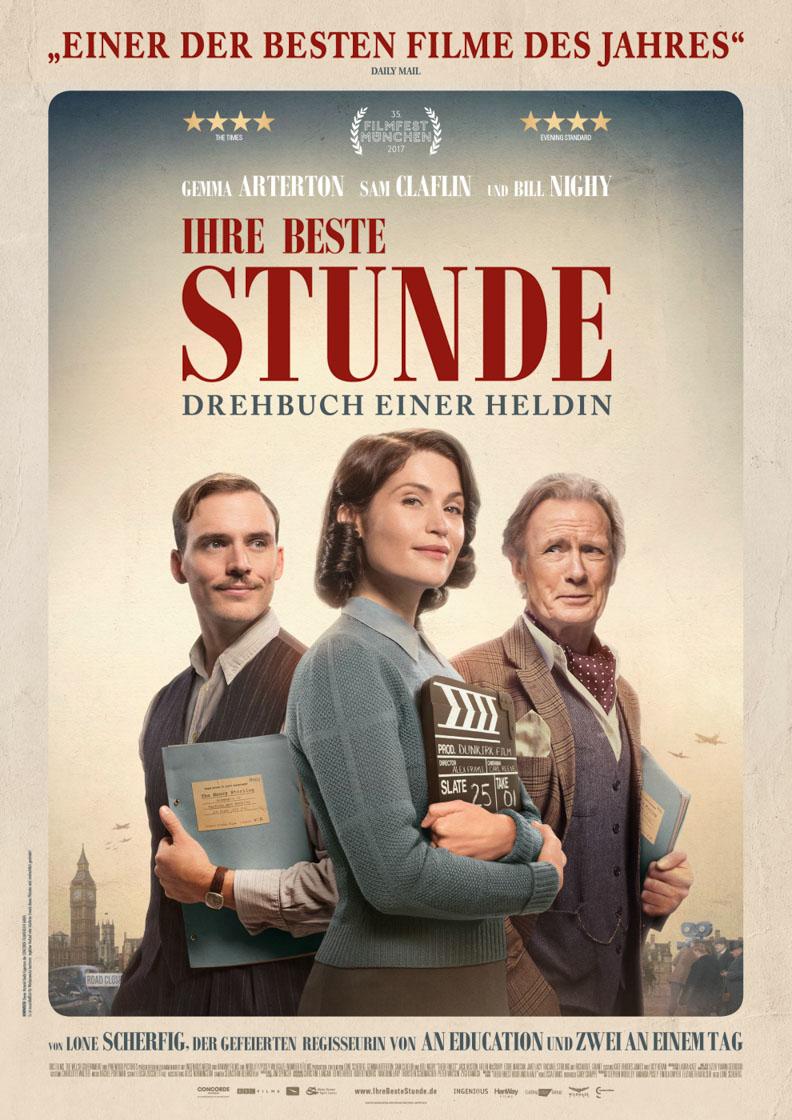 """Das Filmplakat zu """"Ihre beste Stunde - Drehbuch einer Heldin"""""""