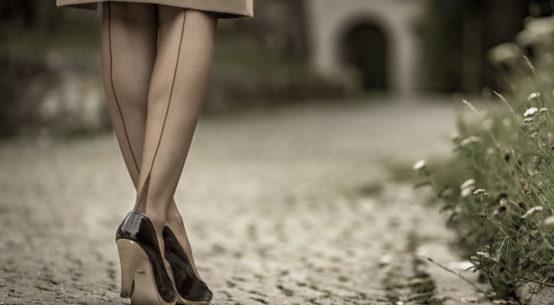 Glamour pur: Die Elegance French Heel Strümpfe von Secrets in Lace