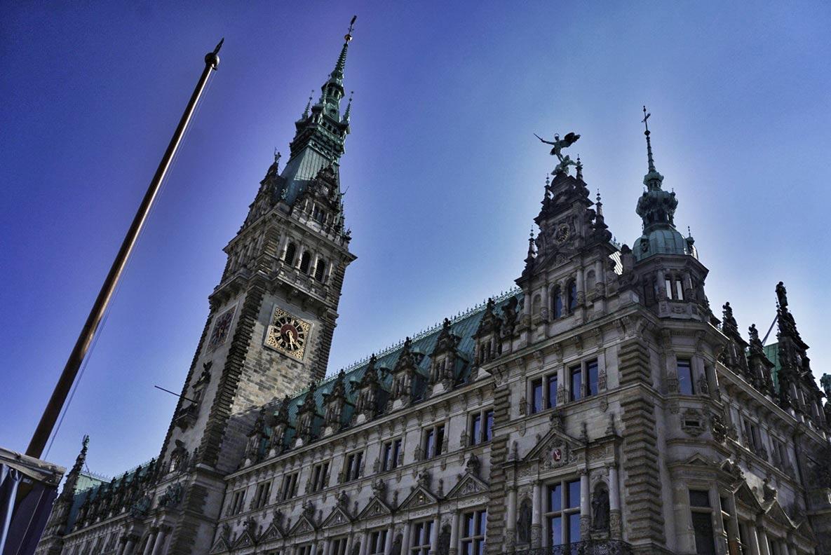 Das atemberaubende Hamburger Rathaus