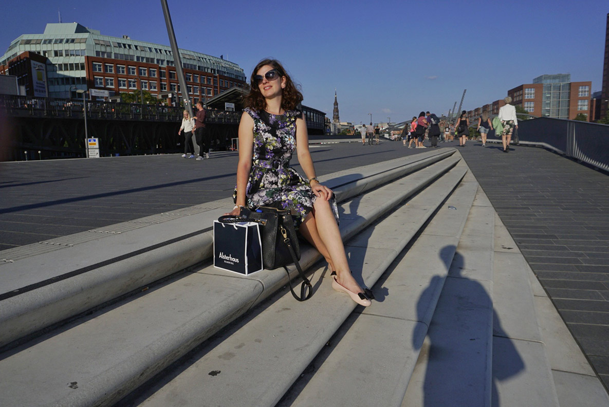 Reise-Bloggerin RetroCat in der Hansestadt Hamburg