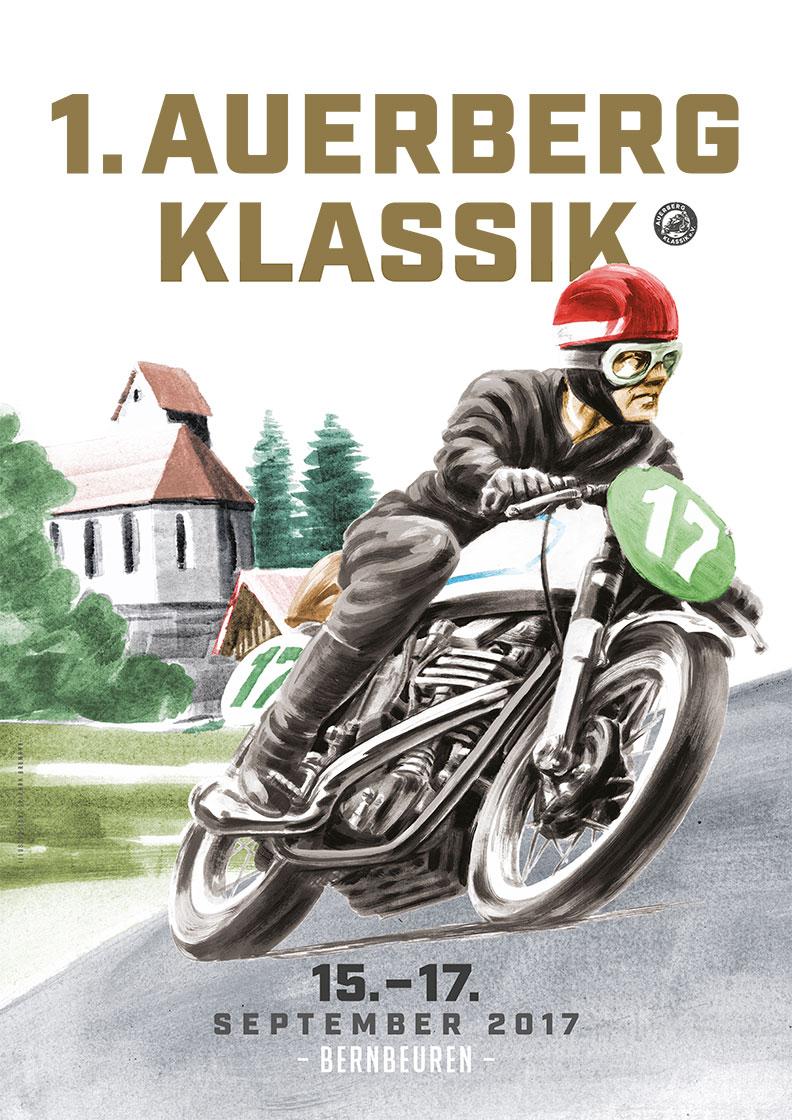 1. Auerberg Klassik Tage 2017 - das offizielle Poster