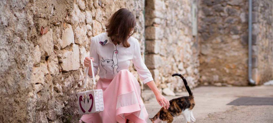 Katzenbluse und bunte Prints: Mein Style-Tagebuch aus Kroatien 2017 - Teil 4