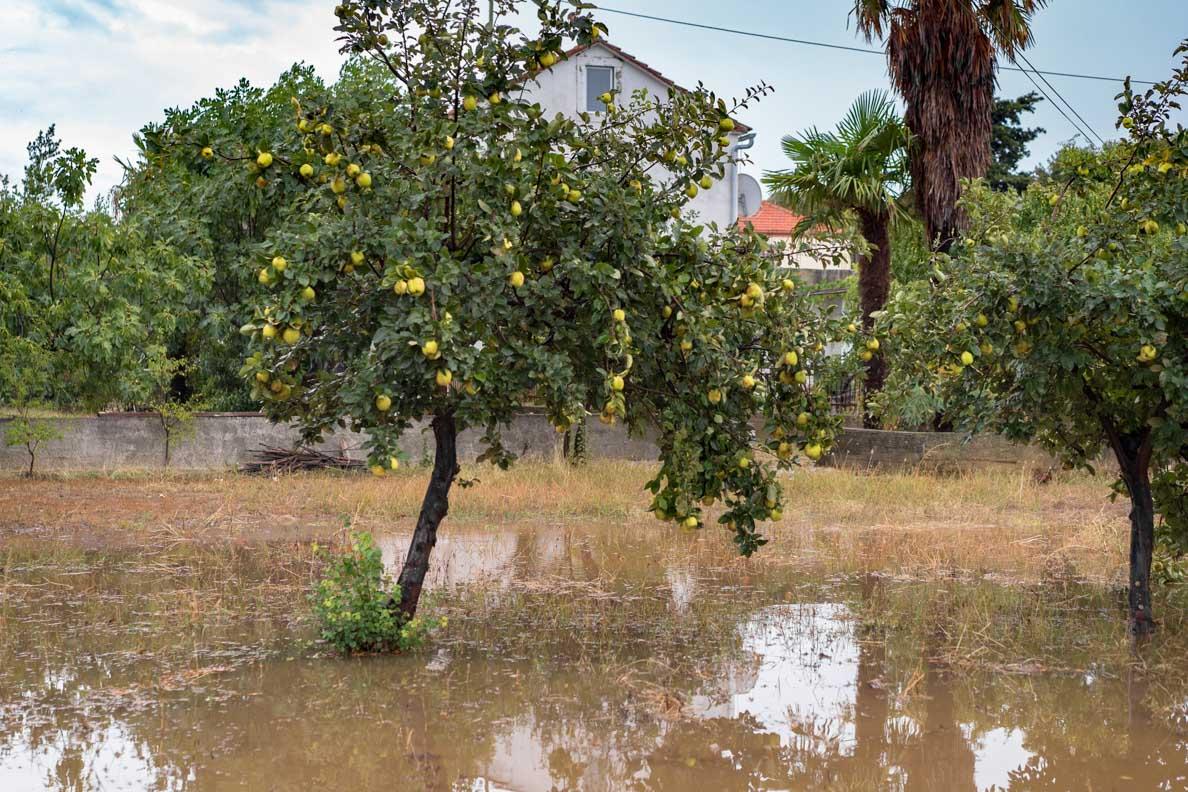 Schwere Unwetter in Zadar und Umgebung