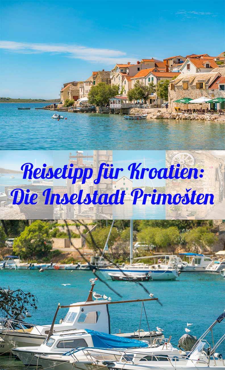 Reisetipp von Reise-Bloggerin RetroCat: Die Inselstadt Primosten in Kroatien