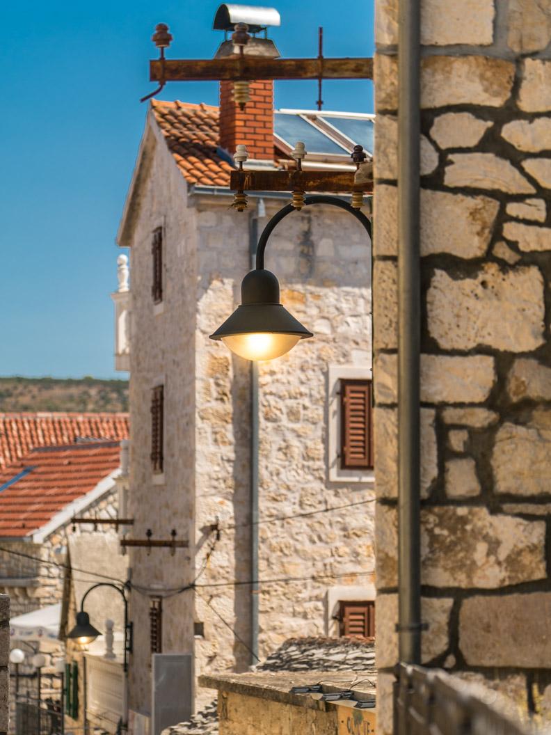 Die malerischen Gassen von der Altstadt Primošten