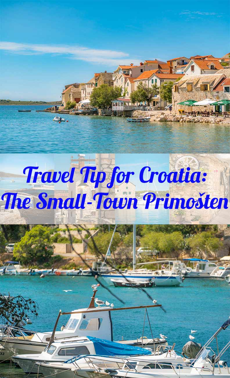 Travel Tip from blogger RetroCat: The small-town Primosten in Croatia