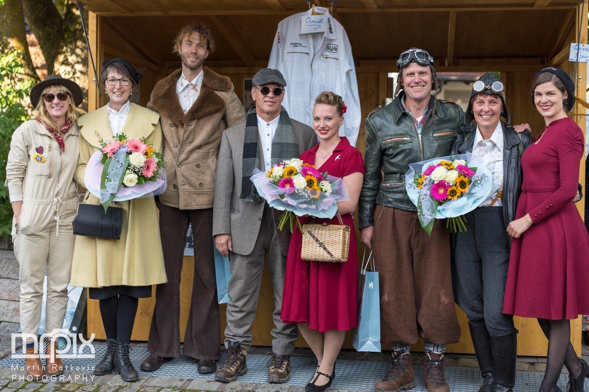 Die Gewinner des Auerberg Klassik Best-Dressed-Wettbewerbs
