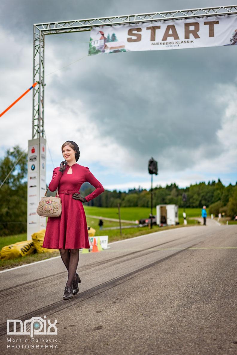 RetroCat im Startbereich beim Auerberg Klassik in Bernbeuren