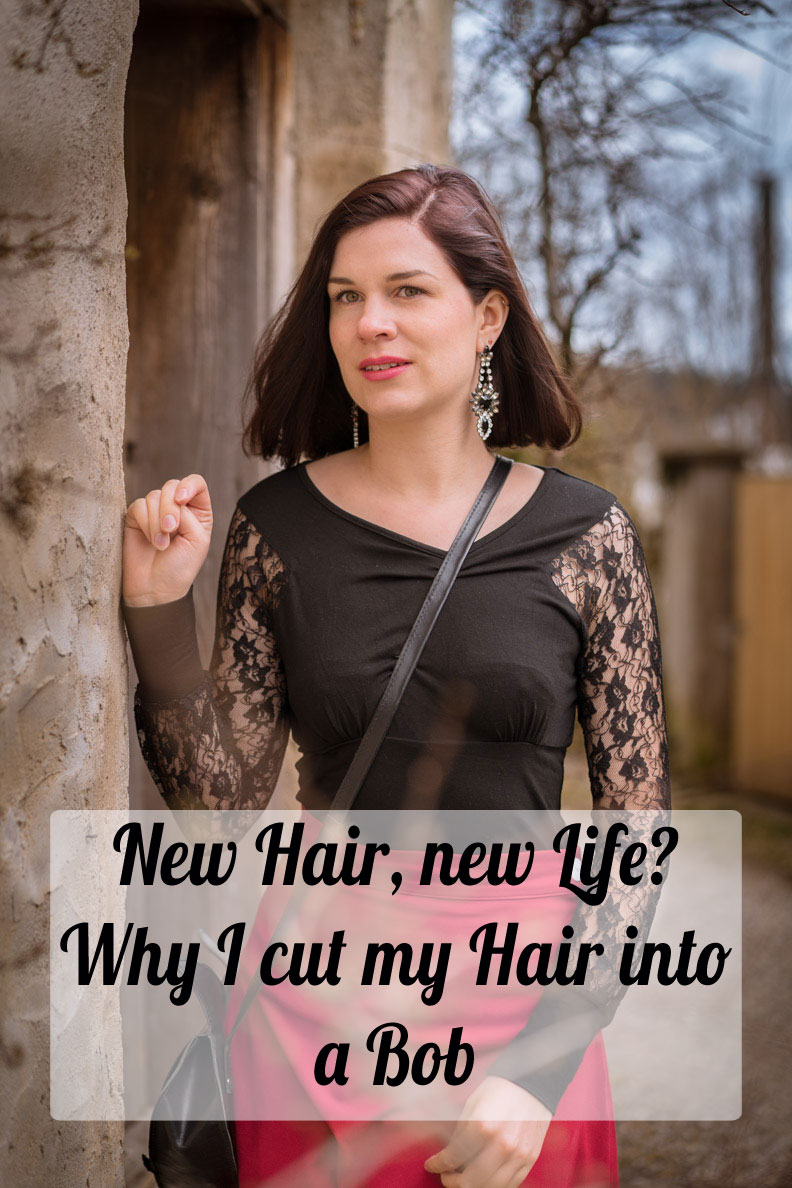 New Hair, new Life? Why I cut my Hair into a Bob - RetroCat
