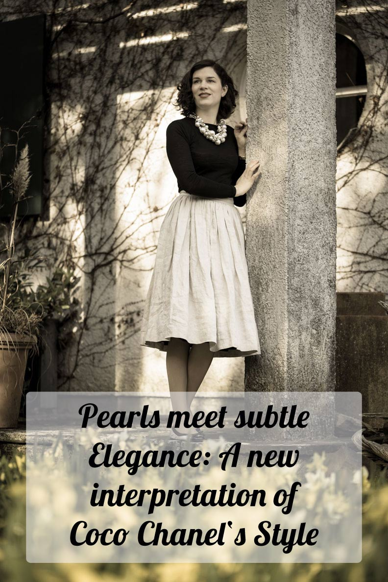 Pearls meet simple Elegance: RetroCat's new interpretation of Coco Chanel's Style