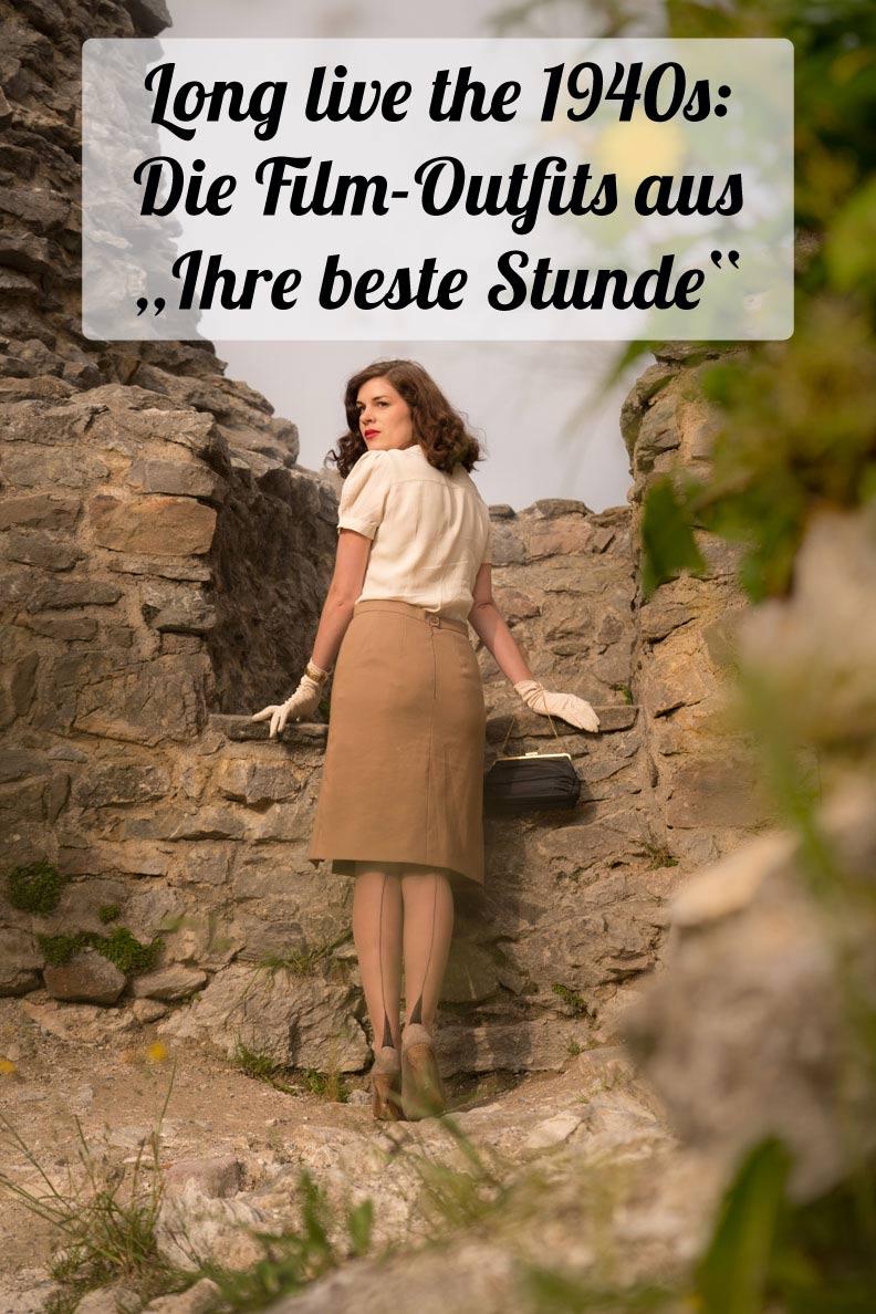 """Long live the 1940s: Die Film-Outfits aus """"Ihre beste Stunde"""" nachgestylt von Vintage-Bloggerin RetroCat"""