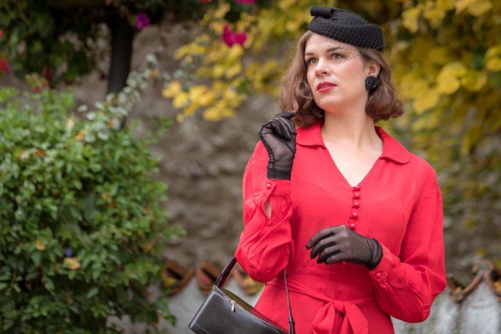 """Dem roten Faden folgen: Das """"Clarice Dress"""" von The Seamstress of Bloomsbury"""