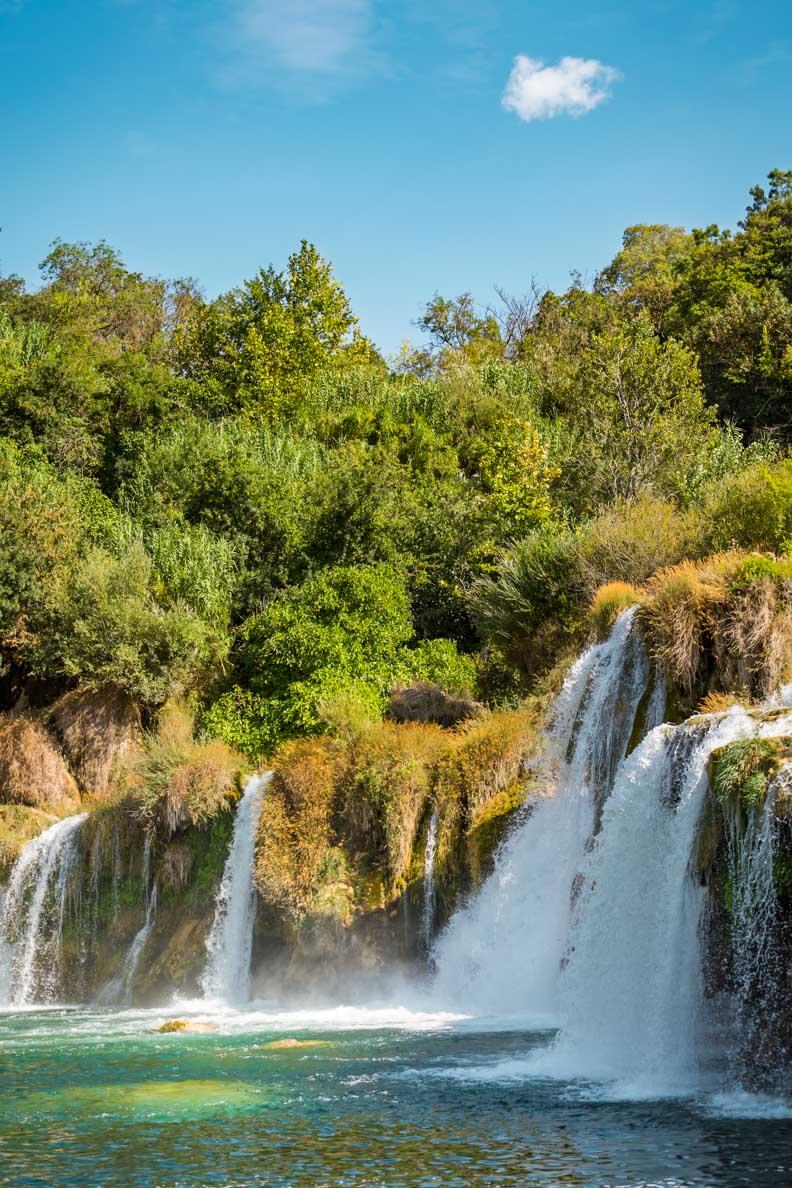 Reisetipp für Kroatien: die Krka-Fälle