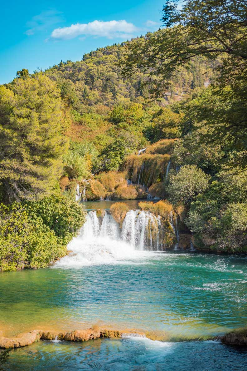 Natur pur: Der Nationalpark Krka in Kroatien