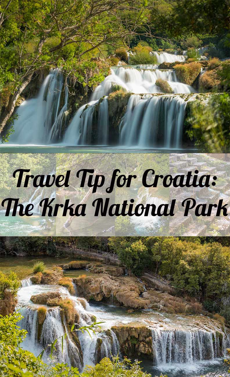 Travel tip from travel blogger RetroCat: The National Park Krka in Croatia