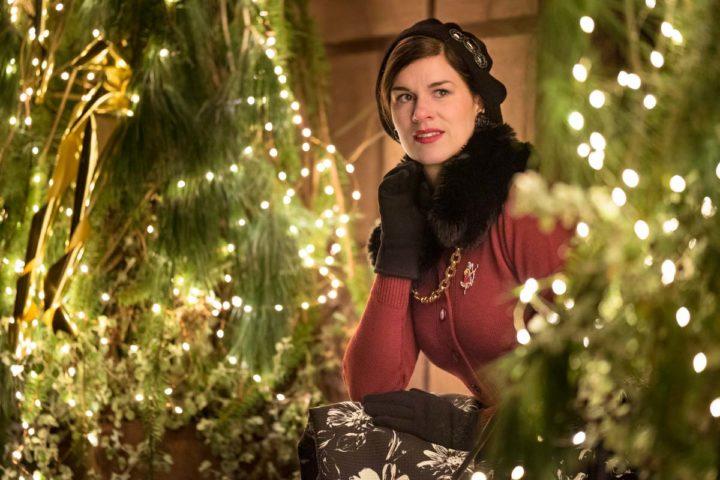 """Ein warmes Winter-Outfit für lange Spaziergänge mit dem Circle Skirt """"Daisy"""" Vivien of Holloway"""