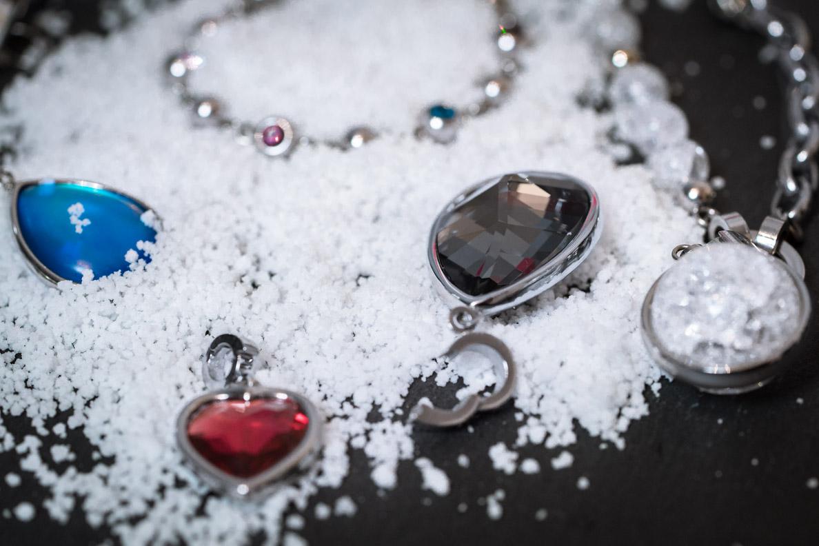 Elegante Anhänger mit Clip-Verschluss von Jewels by LEONARDO