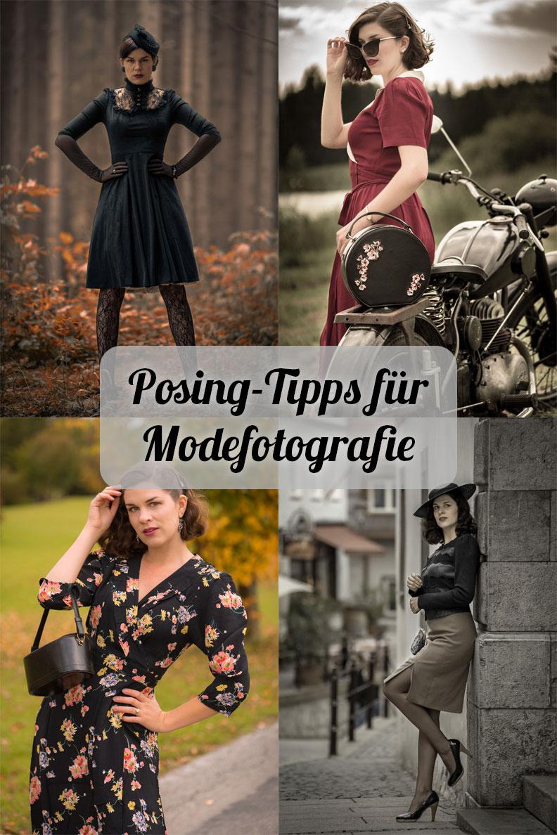 Die besten Posing-Tipps für Fashion-Shootings von Vintage-Model und Bloggerin RetroCat