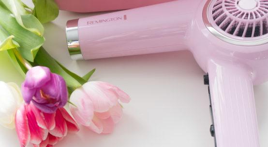 Föhn Dich schön mit dem Remington Pink Lady Retro Haartrockner