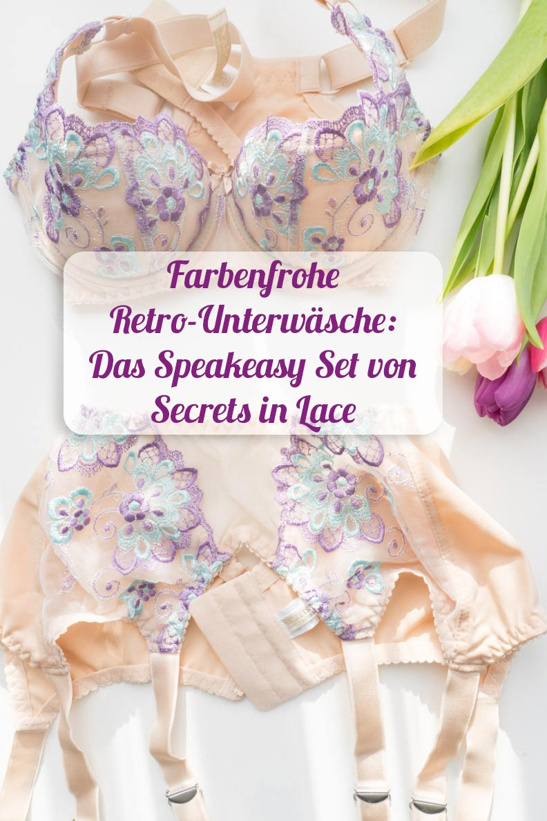 Farbenfrohe Retro-Lingerie: Das Speakeasy Set von Secrets in Lace