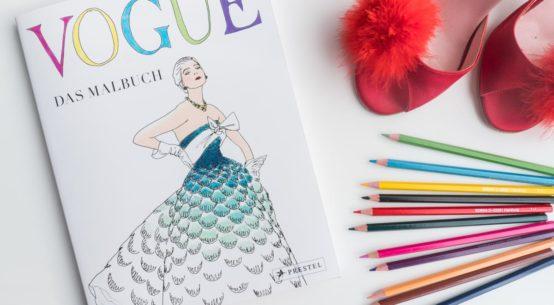 Für Modeliebhaber und Kreative: Das Vogue Malbuch