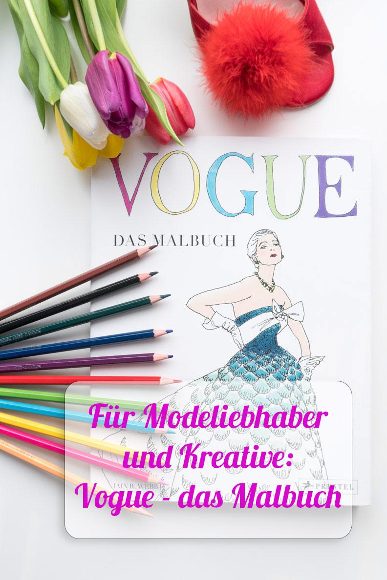 Buchtipp von RetroCat: Das Vogue Malbuch vom Prestel Verlag