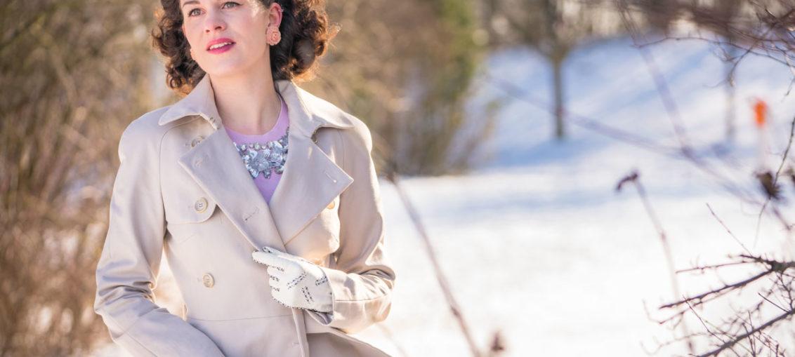 Trench ist Trend: Ein entspannter Retro-Look und meine Frühlings-Wunschliste für Fashion ID