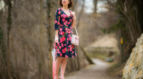 Tulpenblüte mal anders: Das traumhafte Katherine Swing Dress von Dolly and Dotty