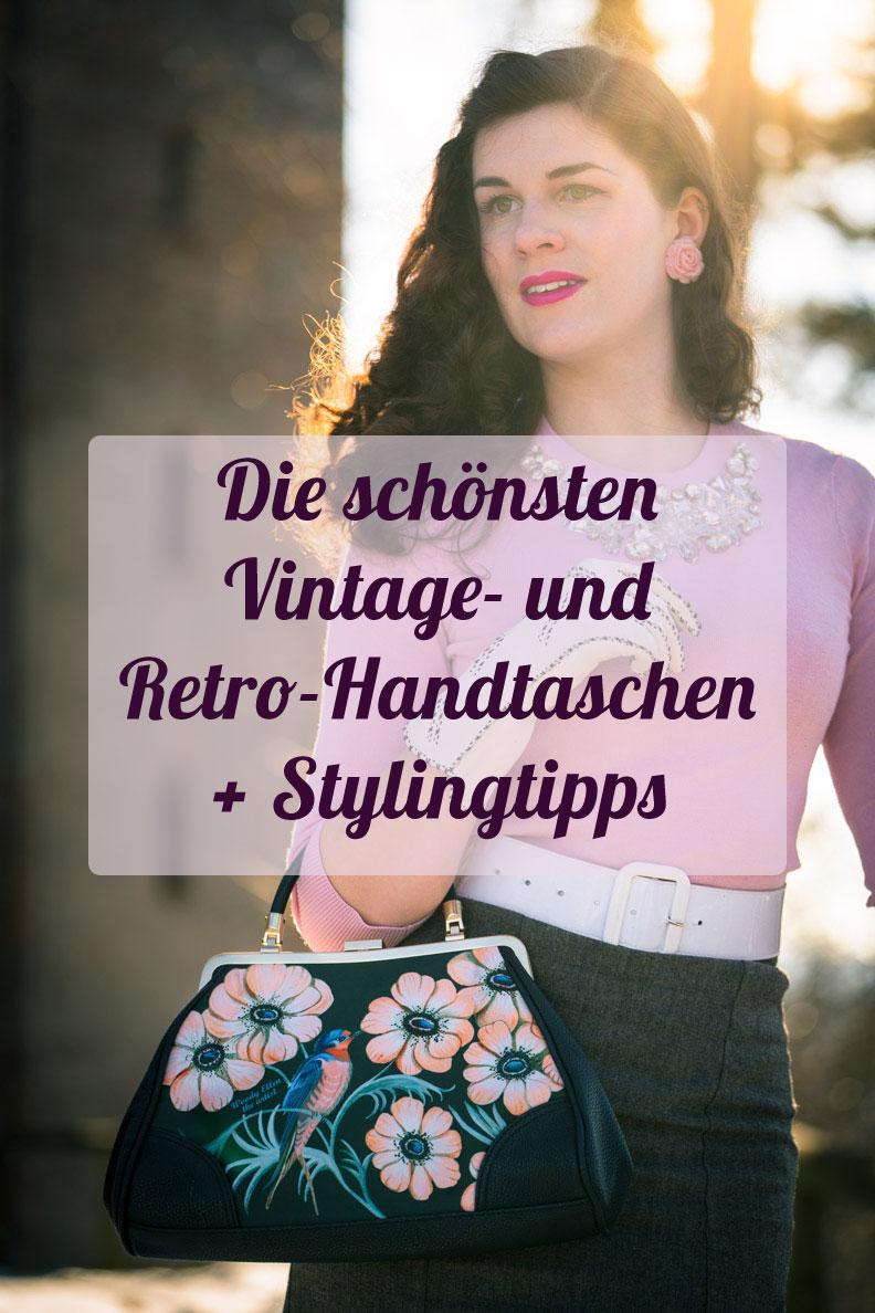 Die schönsten Vintage- und Retro-Taschen für Frühjahr/Sommer + RetroCats Stylingtipps