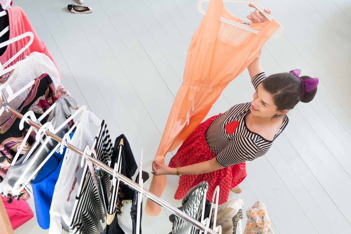 Sonntagsausflug ins Allgäu: Schnappschüsse der Grünten Mode Frühjahrs-/Sommerkollektion 2018