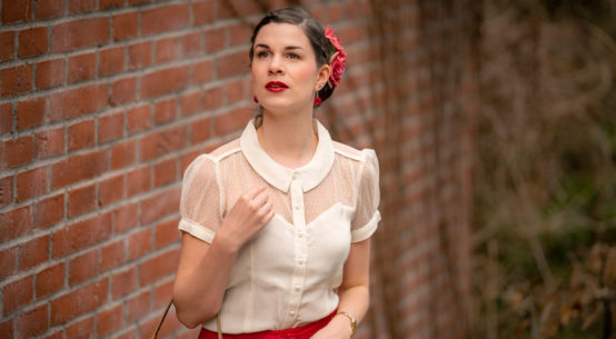 Klassiker unter sich: Florance Blouse & Circle Skirt von The Seamstress of Bloomsbury