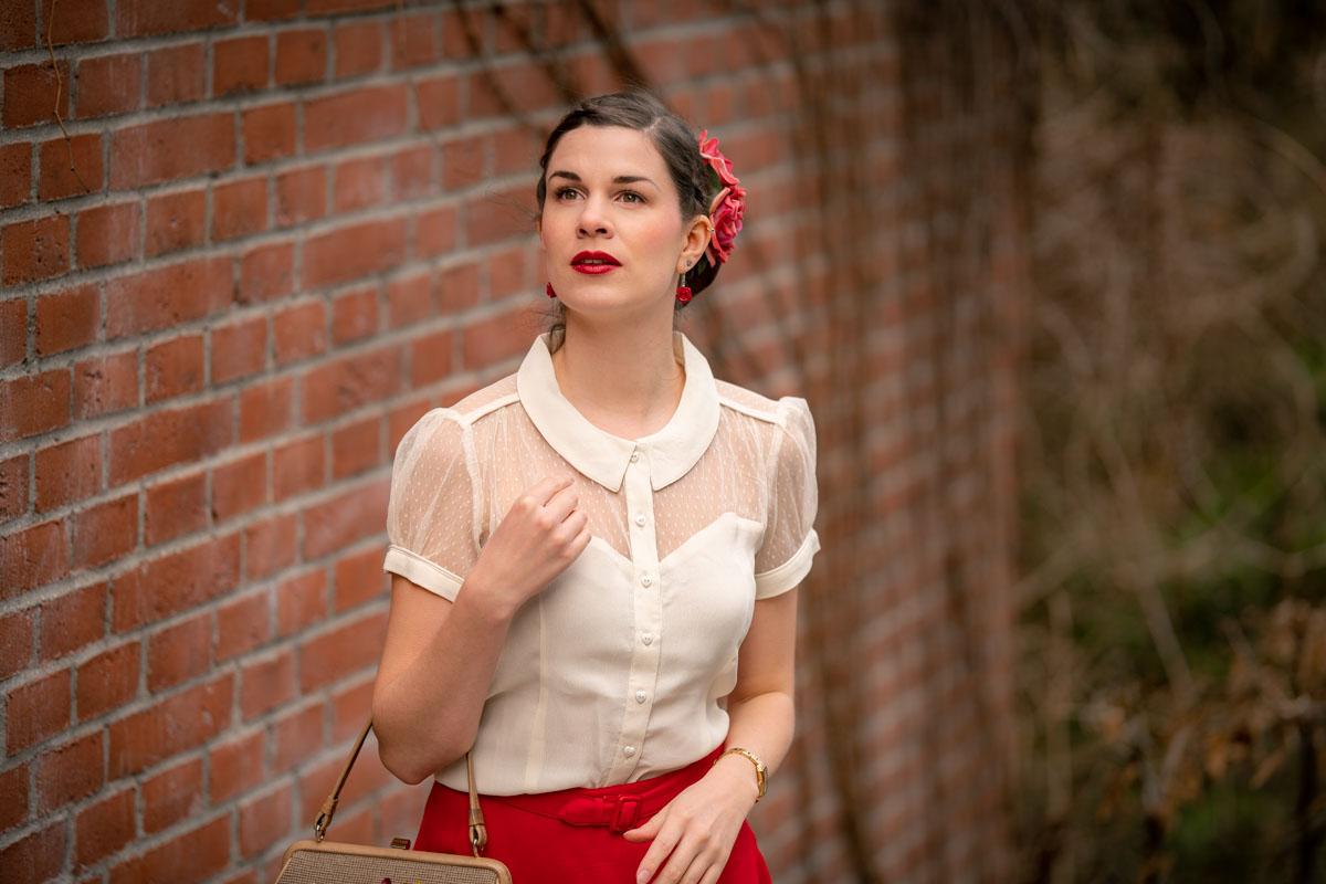Klassiker unter sich: Florance Blouse & Circle Skirt von The Seamstress of Bloomsbury