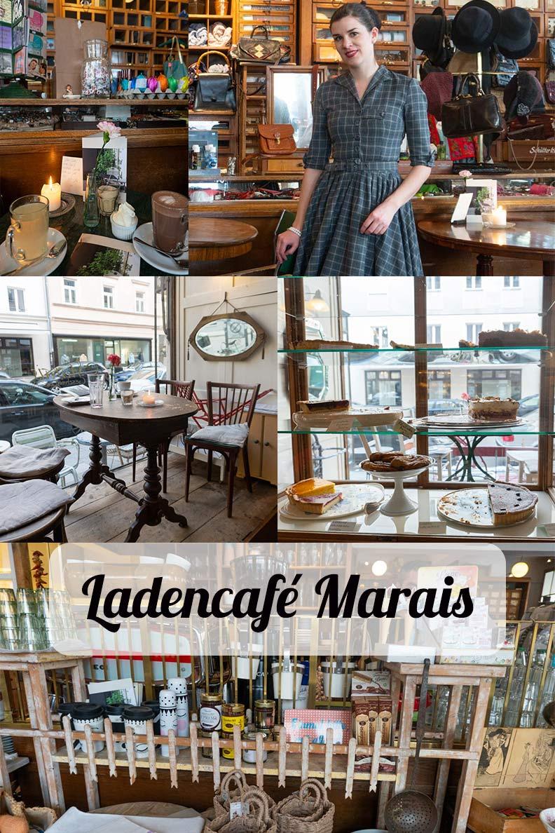 Das zauberhaft charmante Ladencafé Marais in München - perfekt für Vintage-Liebhaber