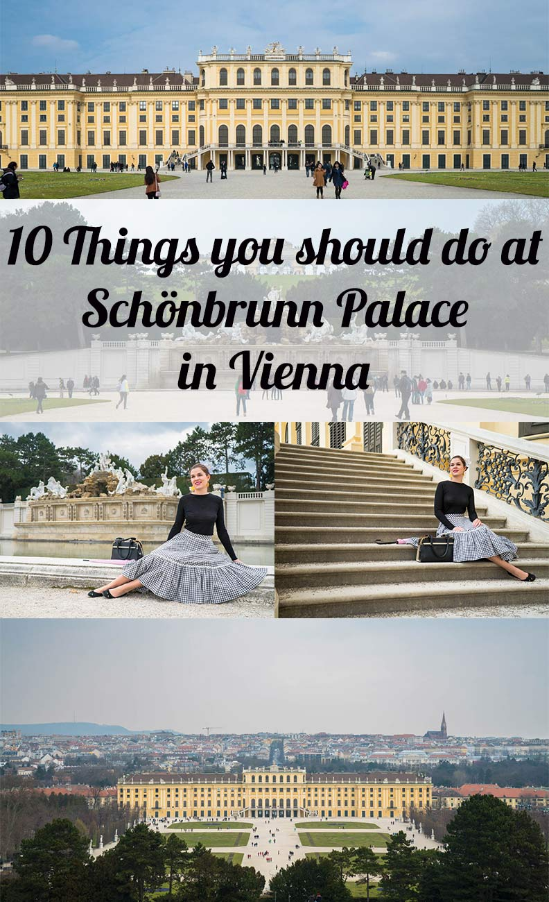 Travel Tip for Vienna/Austria: 10 Things you should do at Schönbrunn Palace